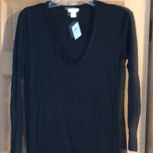 BP from Nordstrom Black Sweater XXS